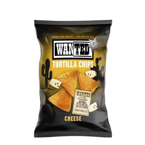 Wanted Tortilla chips Cheese 200 gr x 10 pc